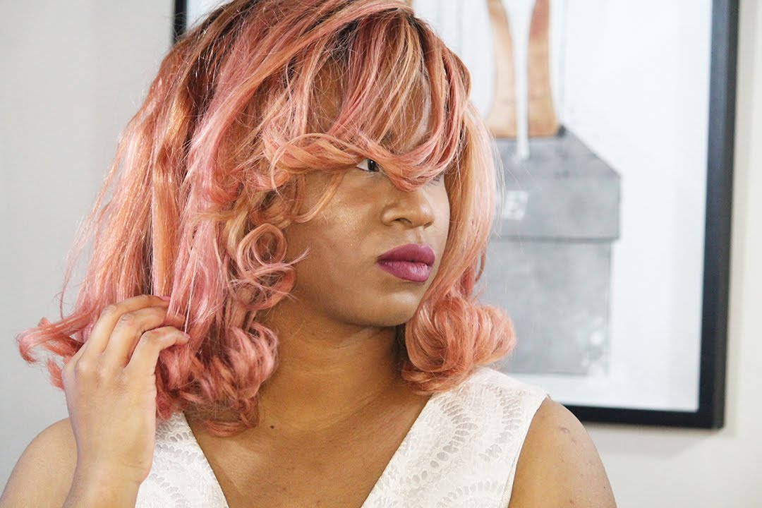 Rose Gold Hair Tutorial How To Dye Hair From Black To Pastel Pink