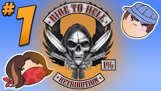 Ride to Hell: The Best Game on Steam - PART 1 - Steam Train