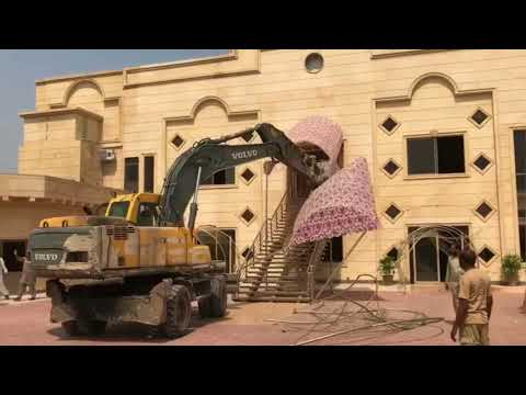 CDA Operation in Islamabad | CDA Destroying Buildings in Islamabad  | Ronak Maila