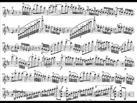 Paganini, Niccolo violinc1 mvt 3 Rondo: Allegro spiritoso