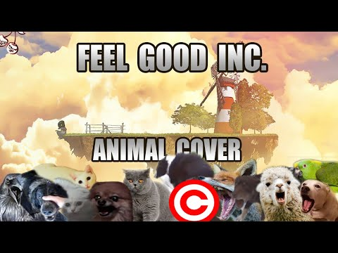 Gorillaz - Feel Good Inc (Animal Cover) [REUPLOAD]