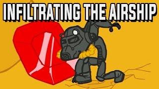 Infiltrate the Airship Gameplay German - Mit Hut und Schnurrbart