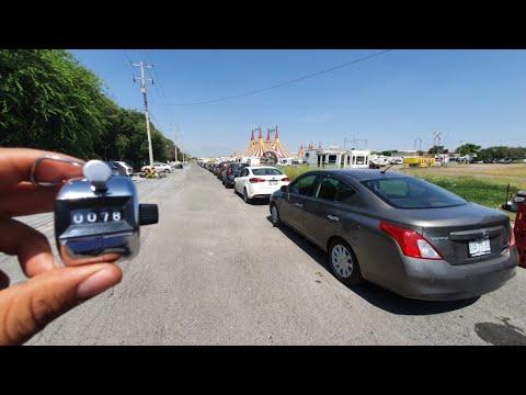 Llenan regios calles... y módulos para pruebas Covid | Monterrey