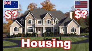 NZ vs USA Housing! Cost of Living New Zealand Series