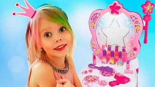 Vitalina life dresses up for a Princesses Party