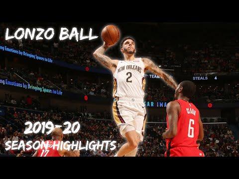 Lonzo Ball 2019-20 Season Highlights