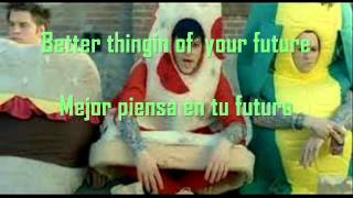 Good Charlotte - I just wanna live (Lyrics : Español / Inglés)