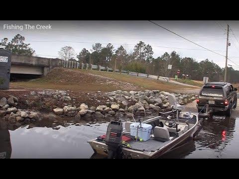 Fishing The Creek