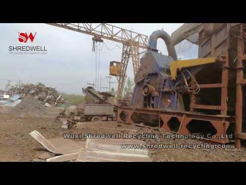 Scrap Metal Recycling Plant | Waste Metal Shredding Machine | SHREDWELL,CHINA