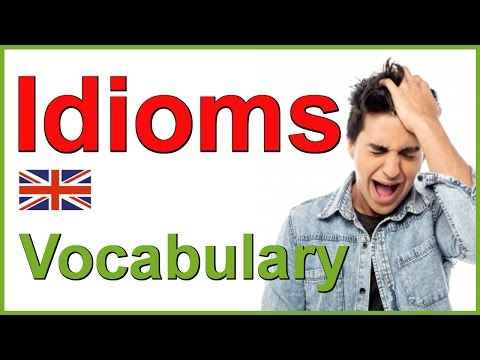 IDIOMS and PHRASES in English | The body - YouTube