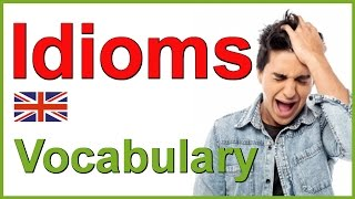 IDIOMS and PHRASES in English | The body