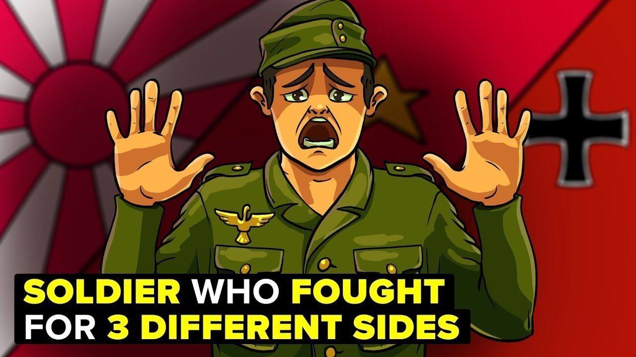 The Man Who Fought on 3 Different Sides During World War 2