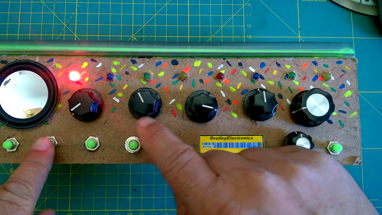 16 Steps Sequencer , Theremin & Synthetizer - Arduino: 4