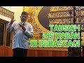 Tausiah MS Kaban di Masjid Istihrar Berastagi