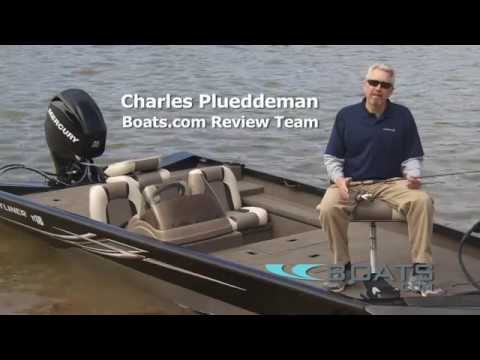 Crestliner TC 18 Aluminum Fishing Boat Review / Performance Test