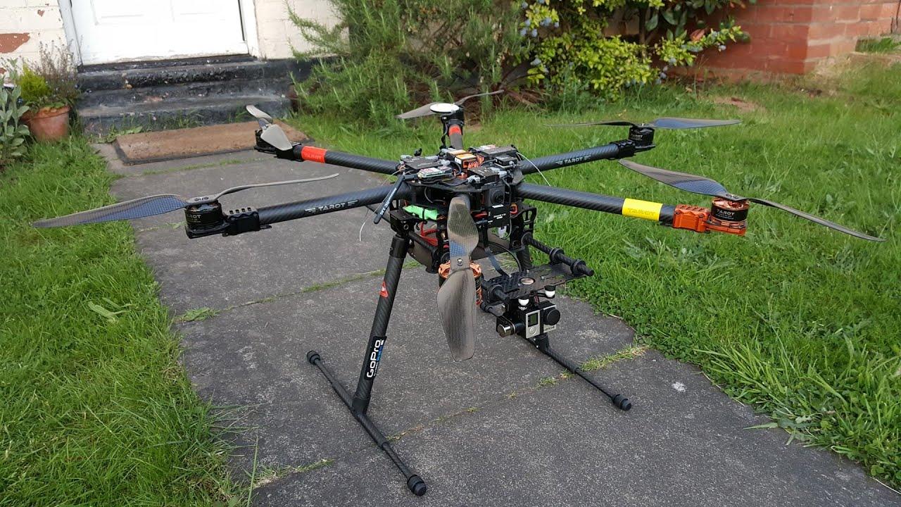 Tarot T810 Hexacopter Drone Build Maiden Flight