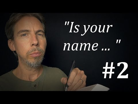 Guessing Your Name #2 | ASMR