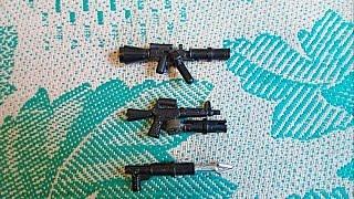 Собираем оружия из Lego (самоделка № 5)