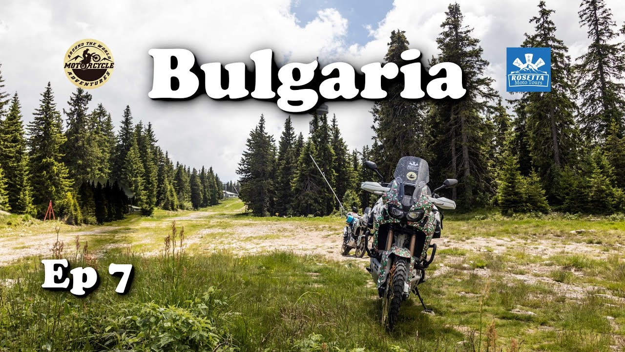 Ep 7 - Motorcycle Trip around Bulgaria / Wonder Bridges, Snezhanka Tower & Zlatograd