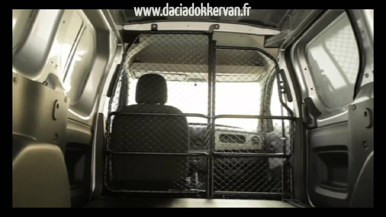 dacia dokker van l 39 utilitaire de dacia youtube. Black Bedroom Furniture Sets. Home Design Ideas