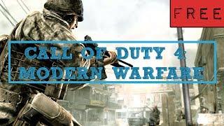 Call of Duty 4 Modern Warfare FREE download mac version