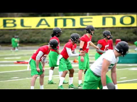 Oregon Ducks open spring football practice: Sights and sounds