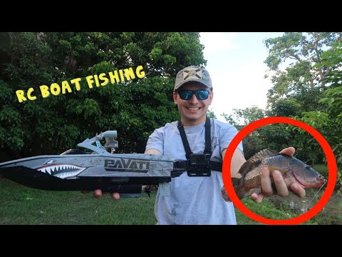 CATCHING FISH WITH AN RC BOAT?!