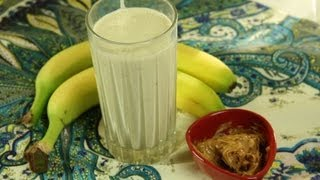 Peanut Butter And Banana Smoothie - Kids Recipe