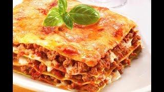 Как вкусно приготовить Лазанью.Лазанья с сыром и мясным фаршем (Lasagna with cheese and meat)