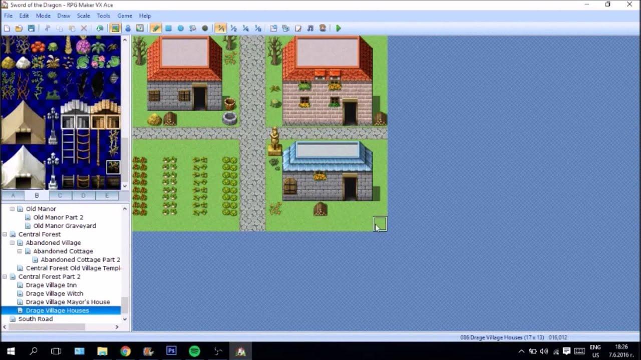 RPG Maker Developing
