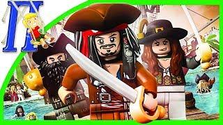 LEGO Пираты Карибского Моря ДЖЕК ВОРОБЕЙ Часть-1