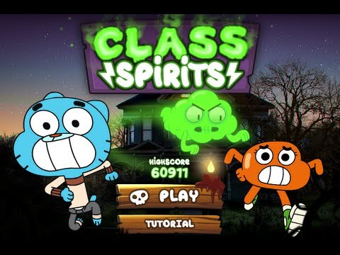 The Amazing World Of Gumball Online Games Class Spirits