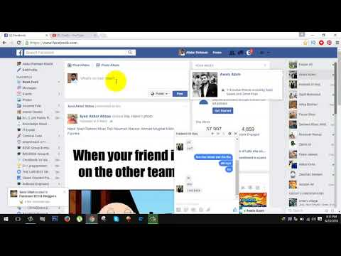 How To Change Facebook Chat(temporary) 2019