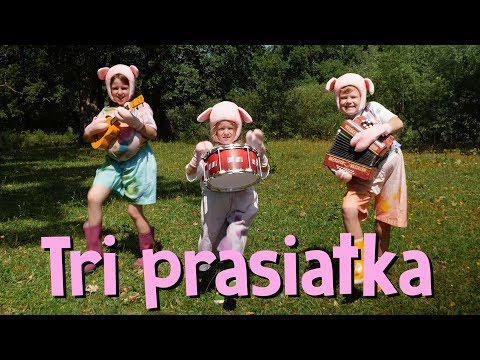 Smejko a Tanculienka - Tri prasiatka (rozprávka)