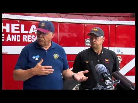 Press Conference on wildfire fatalities near Twisp (Part One)