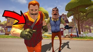 THE NEIGHBOR HAS A KNIFE!!! | Hello Neighbor Knock Offs/Rip Offs