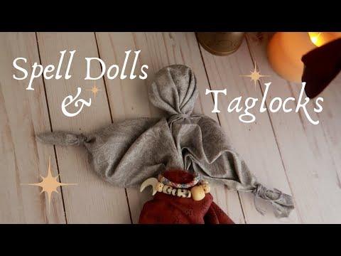 Spell Dolls, Poppets, & Taglocks || Witchcraft 101 - YouTube