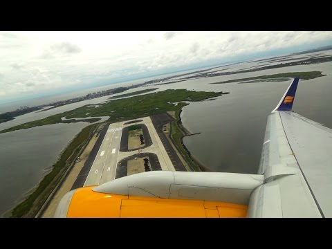RB211 POWER! Icelandair Boeing 757-200 Takeoff at John F. Kennedy Int'l Airport