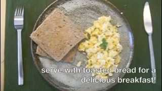The Rustic Greek Cook: Eggs With Feta - (Αυγά με φέτα)