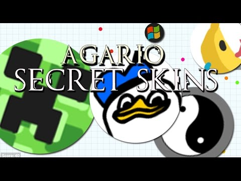 Agario Secret Skins, Names! - YouTube