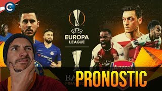 🏆 PRONOSTIC CHELSEA ARSENAL / FINALE EUROPA LEAGUE 2019
