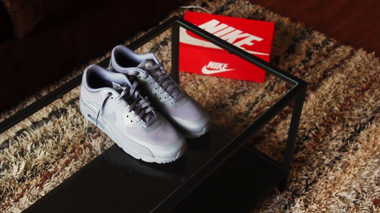 15fbca10de Unboxing + On Foot : Nike Air Max 90 COOL GREY// WOLF GREY - YouTube