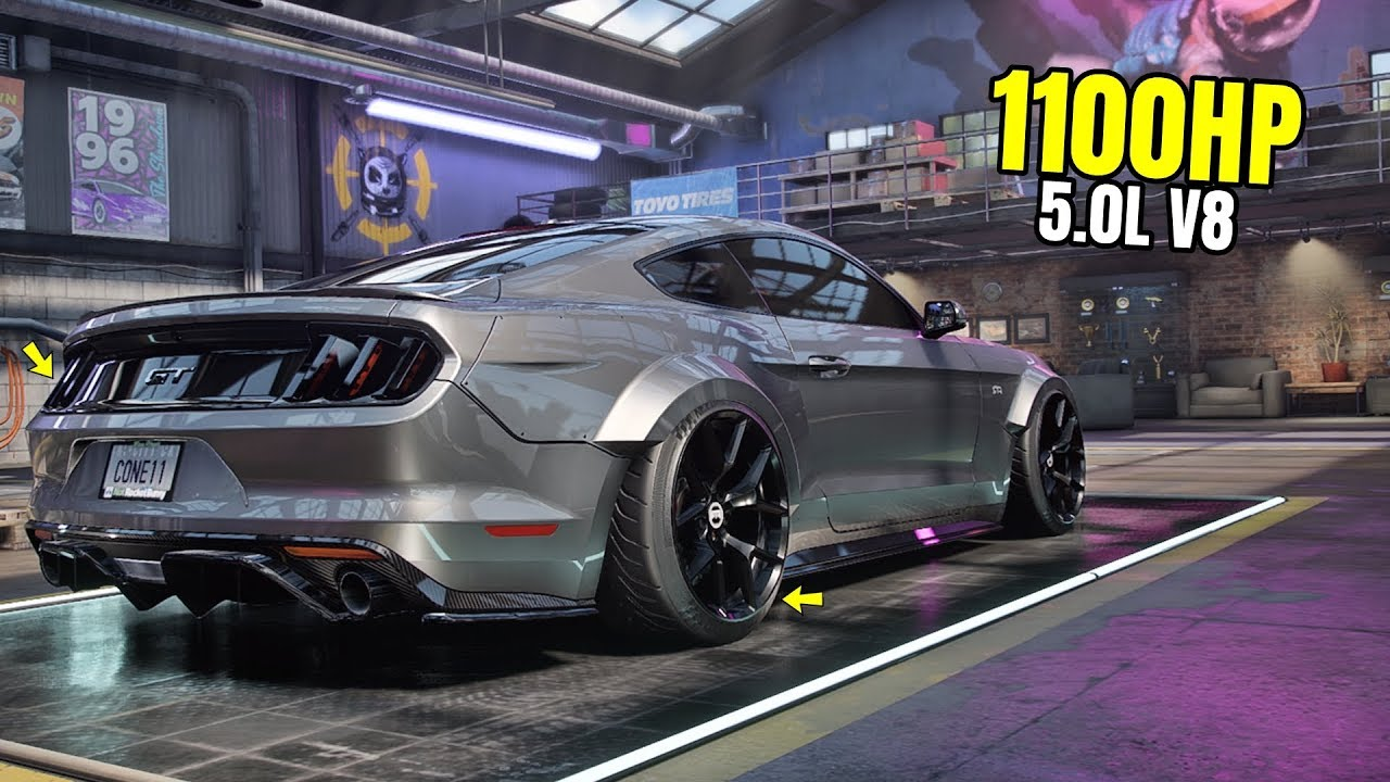 Need For Speed Heat Gameplay 1100hp Ford Mustang Gt Rtr