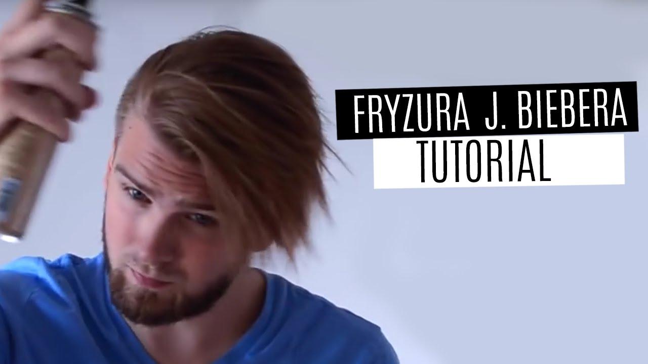Jak Układać Fryzurę Z Grzywką Justin Bieber Hairstyle