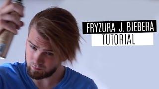 Jak układać fryzurę z grzywką - Justin Bieber hairstyle