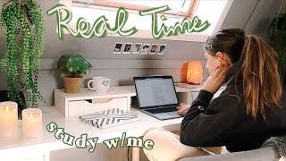 real time study with me (pomodoro met pauzes + timer)