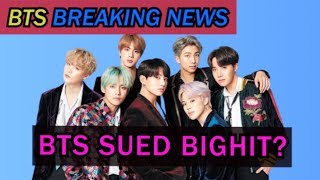 BTS Sued BIGHIT? Can BTS Make Comeback in 2020?