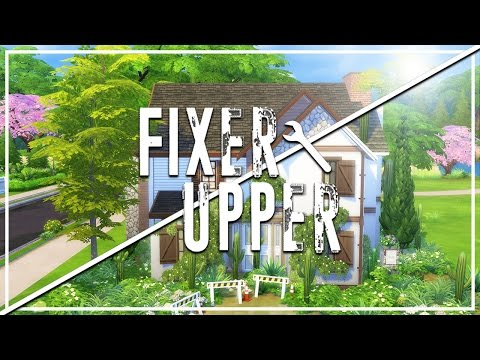 CACTUS CATASTROPHE // The Sims 4: Fixer Upper - Home Renovation