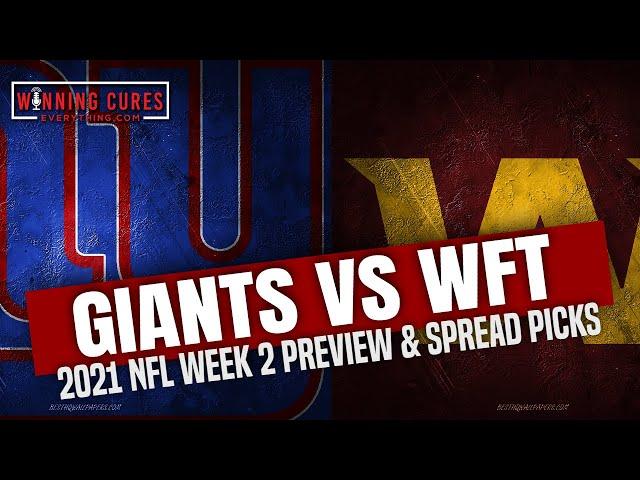 New York Giants vs Washington Football Team 2021 Week 2 Picks Against the Spread