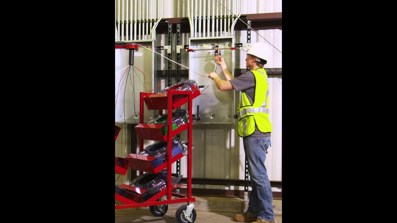 Southwire SIMpull CoilPAK - Single Cart Demo - YouTube